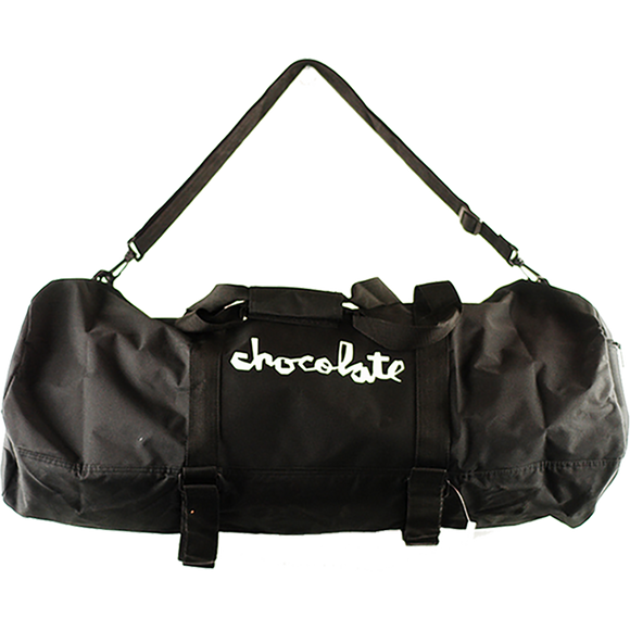 Chocolate Skate Carrier Duffel Bag Black/White Duffel Bag