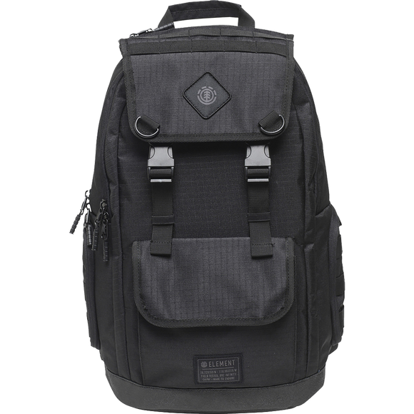 Element Cypress Recruit Backpack All Black Backpack
