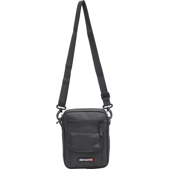 Element Road Bag Flint Black Shoulder Bag