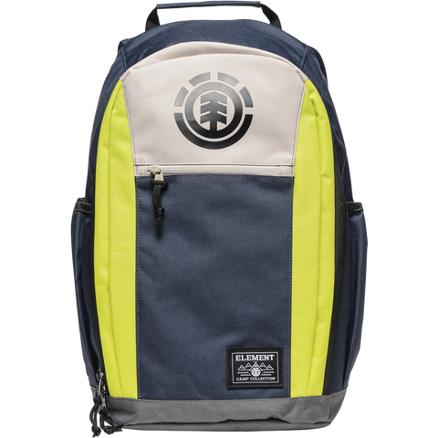 Element Sparker Backpack Eclipse Navy Yellow