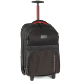 O&E Carry On Wheel Bag Black