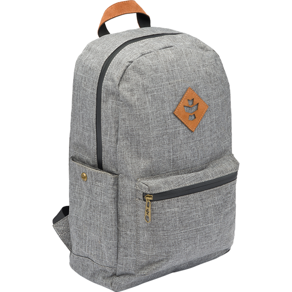 Revelry Escort Backpack 18L Crosshatch Grey Backpack