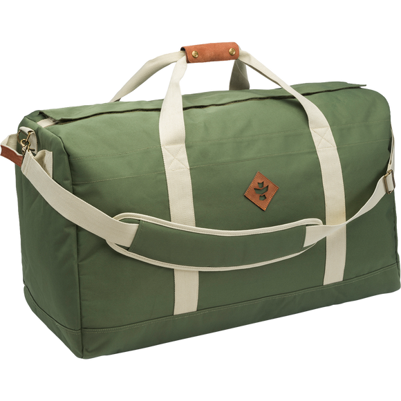 Revelry Continental Duffle Bag 134l Green/Beige