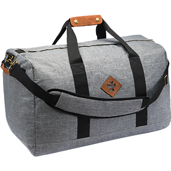 Revelry Around-Towner Duffle 72L Crosshatch Grey Duffle Bag