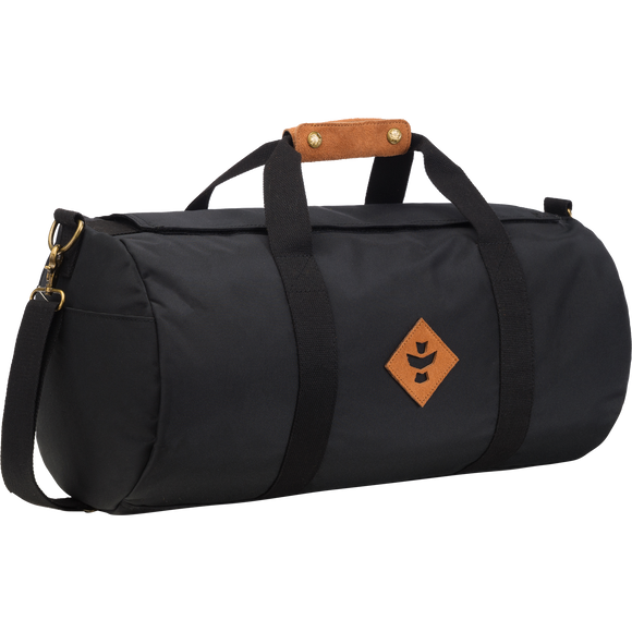 Revelry Overnighter Duffle Bag 28L Black Duffle Bag