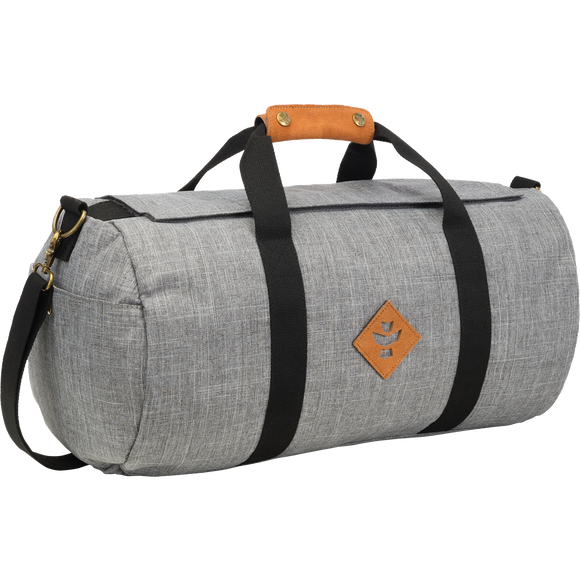 Revelry Overnighter Duffle Bag 28L Crosshatch Grey Duffle Bag