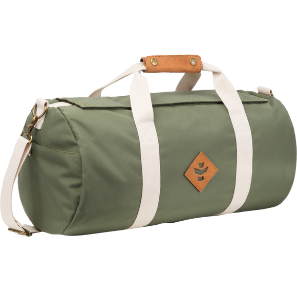 Revelry Overnighter Duffle Bag 28L Green Duffle Bag