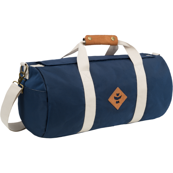 Revelry Overnighter Duffle Bag 28L Navy/Beige