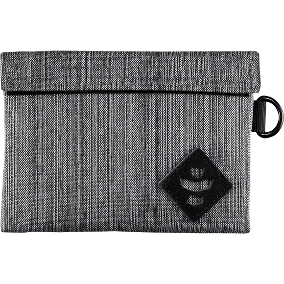 Revelry Mini Confidant Money Bag Striped Grey Money Bag