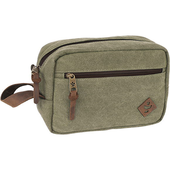 Revelry Stowaway 5L Canvas Sage Pouch