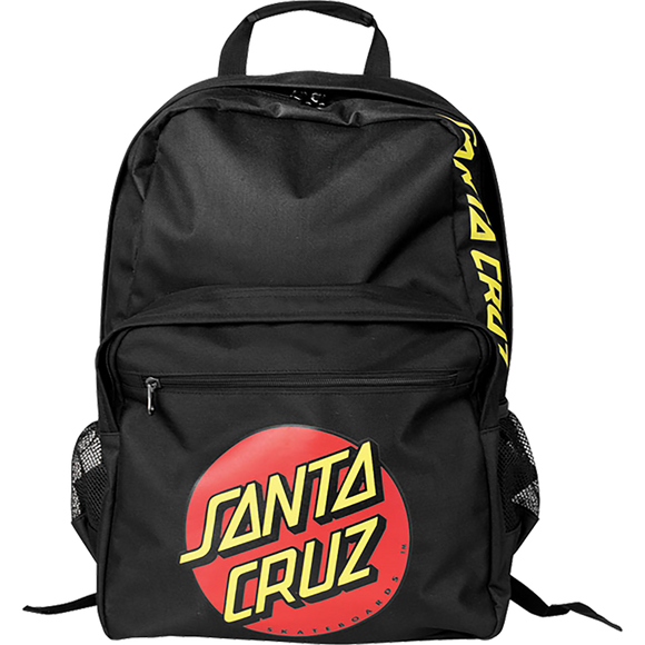 Santa Cruz Classic Dot Backpack Black Backpack