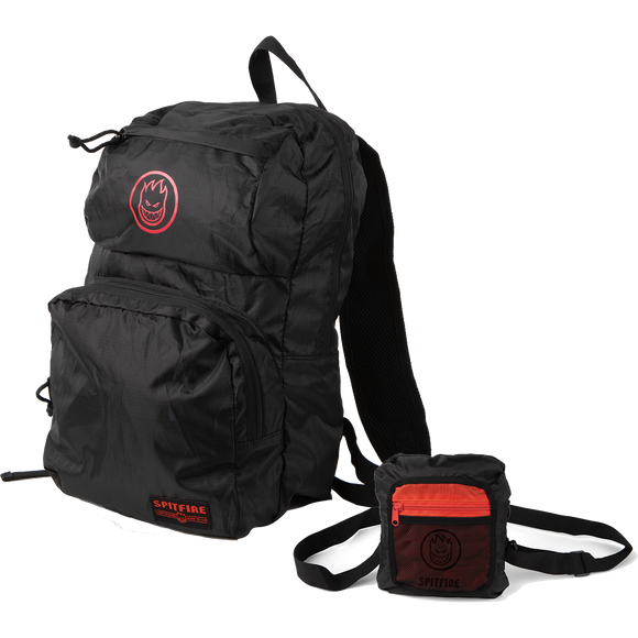 Spitfire Bighead Circle Packable Backpack Black/Red Backpack