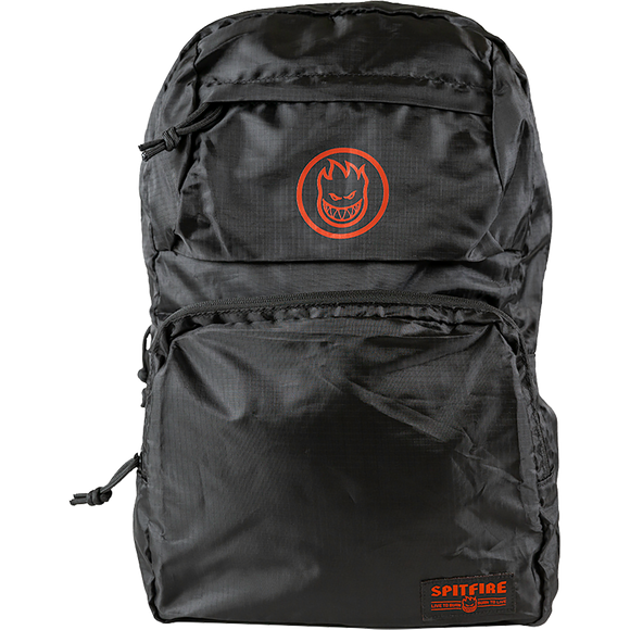 Spitfire Bighead Circle Backpack Black Backpack