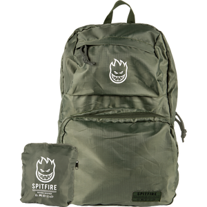 Spitfire Burn Division Nylon Packable Bag Military Green/W