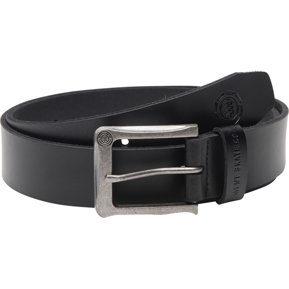 Element Poloma Leather Belt S/M Black