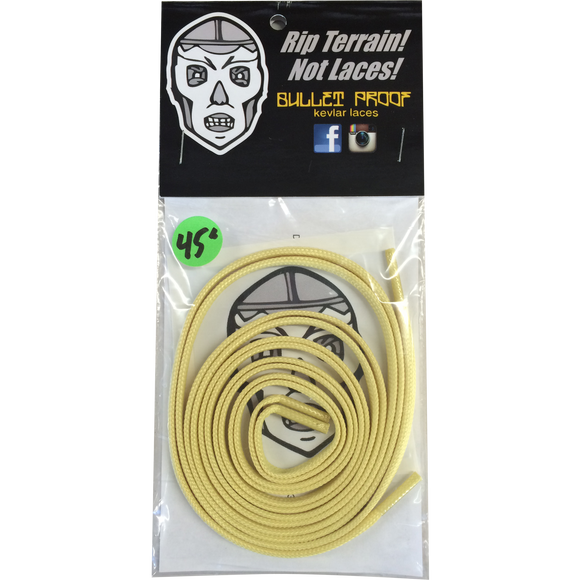 BULLETPROOF KEVLAR SHOE LACES 45