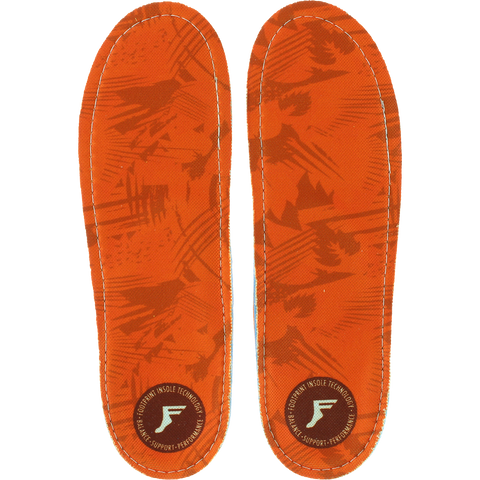 FOOTPRINT KINGFOAM CAMO ORANGE 7-7.5 INSOLE