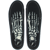 FOOTPRINT KINGFOAM SKELETON BLACK 6-6.5 INSOLE