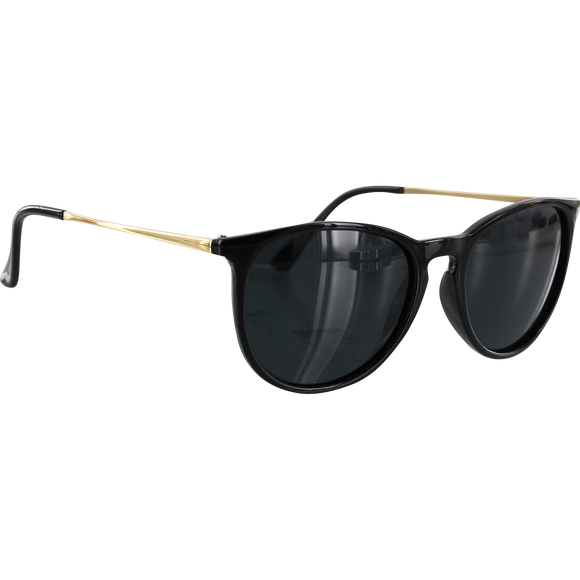Glassy Sierra Black/Gold Sunglasses Polarized