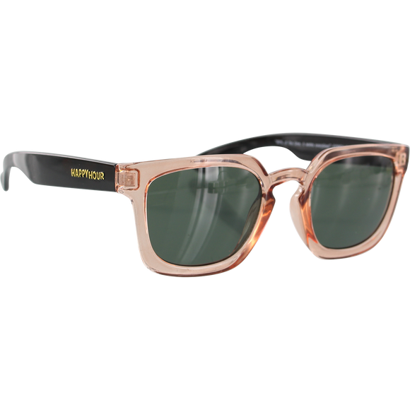Happy Hour Wolf Pup Sunglasses Glick Rose Black