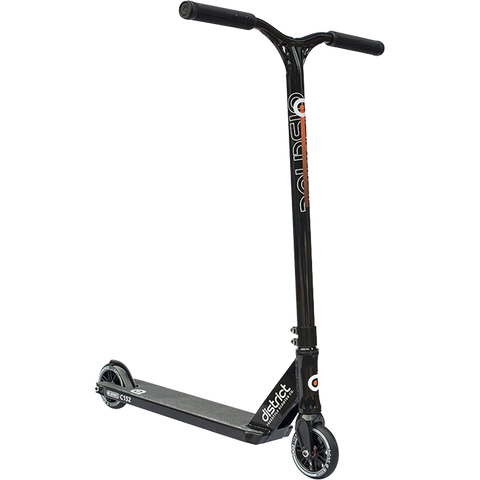 District C152 Scooter - Color:  Black/Black
