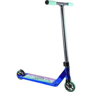 Dominator Team Scooter - Color:  Navy Chrome