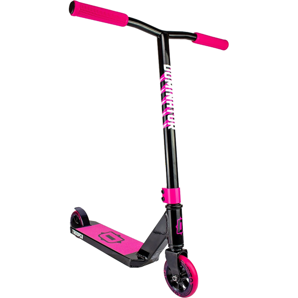 Dominator Trooper Scooter - Color:  Black/Pink