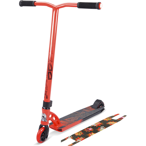 Madd Gear MGP VX7 Pro Scooter - Color:  Fast Food Red/Black/Black