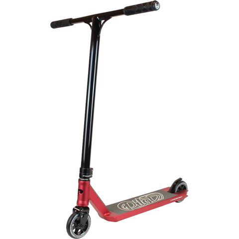 Phoenix Pilot Scooter - Color:  Ano Red/Black