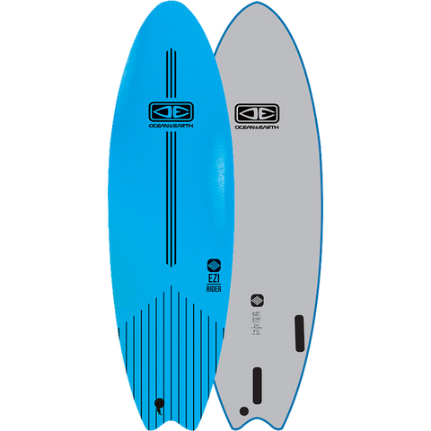 "O&E Ocean & Earth Ezi-Rider Softboard 6'0"" Blue - Surfboard"