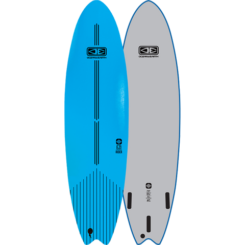 "O&E Ocean & Earth Ezi-Rider Softboard 7'0"" Blue - Surfboard"