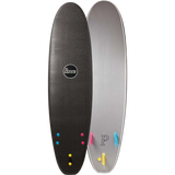 "Penny Softboard 7'0"" Tri Fin Nightsurf Black - Surfboard"