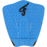 Famous Deluxe F3 Blue Surfboard Traction Pad - 3 PIECES | Universo Extremo Boards Surf & Skate