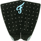 Famous Fillmore Black/Blue Surfboard Traction Pad - 3 PIECES | Universo Extremo Boards Surf & Skate