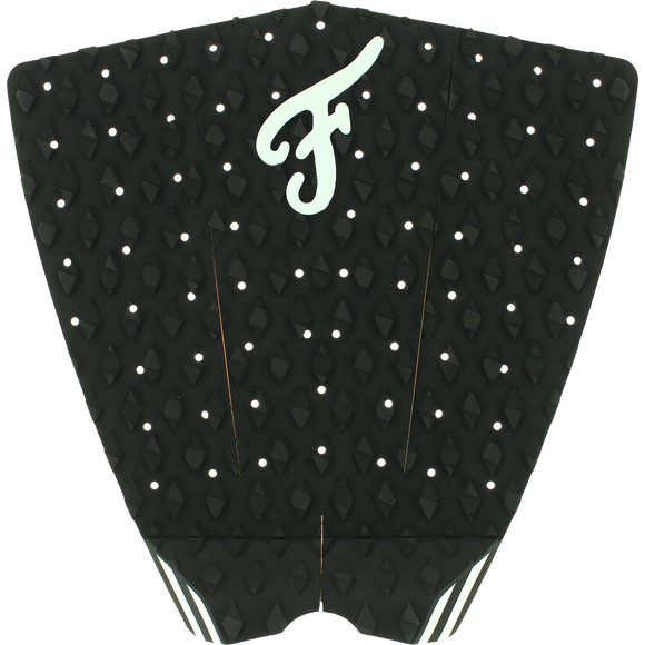Famous Fillmore Black/White Surfboard Traction Pad - 3 PIECES | Universo Extremo Boards Surf & Skate