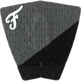 Famous Port Coal/Black Surfboard Traction Pad - 3 PIECES | Universo Extremo Boards Surf & Skate