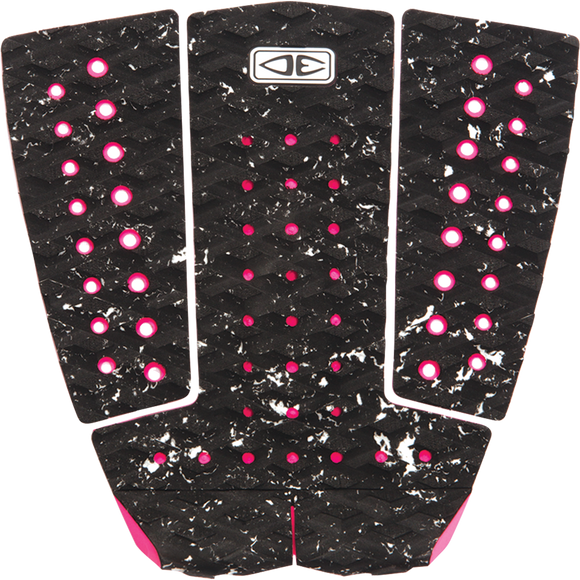 O&E Ocean & Earth Tyler Wright Signature 3pc Tail Pad Black/Pink