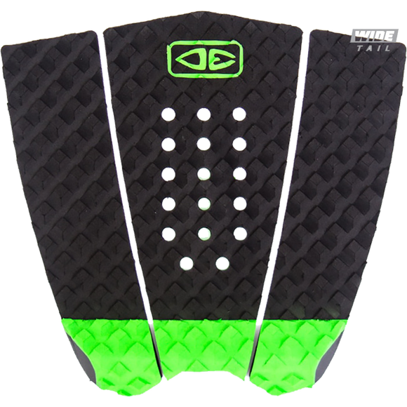 O&E Ocean & Earth Simple Jack Hybrid Wide Tail Pad Black/Lime