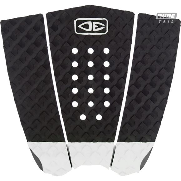 O&E Ocean & Earth Simple Jack Hybrid Wide Tail Pad Black/White