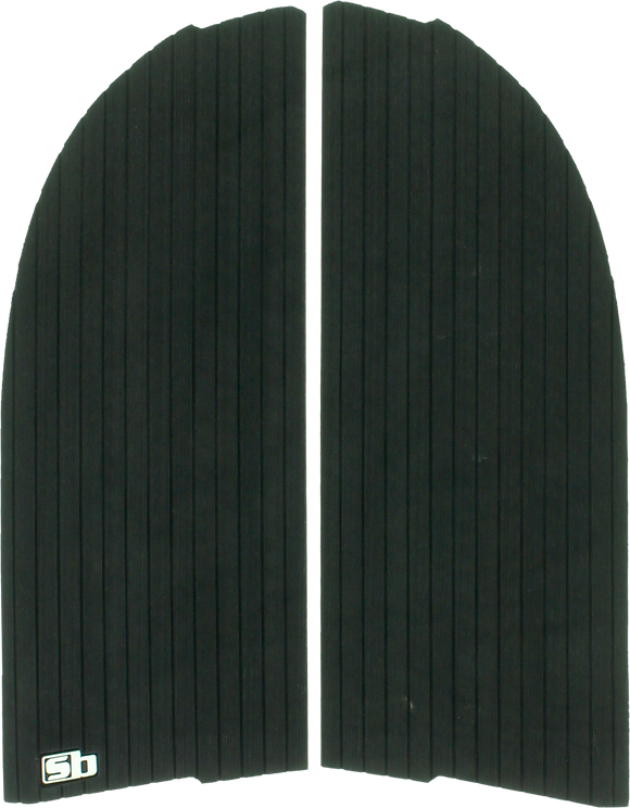 SB Sticky Bumps Traction Longboard Nose Black