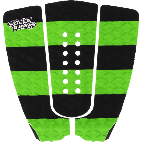 SB Sticky Bumps Stripe Traction Black/Green