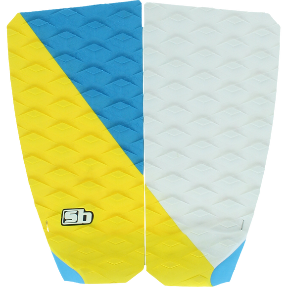 SB Sticky Bumps Rastovich 2 Traction Yellow/Cyan