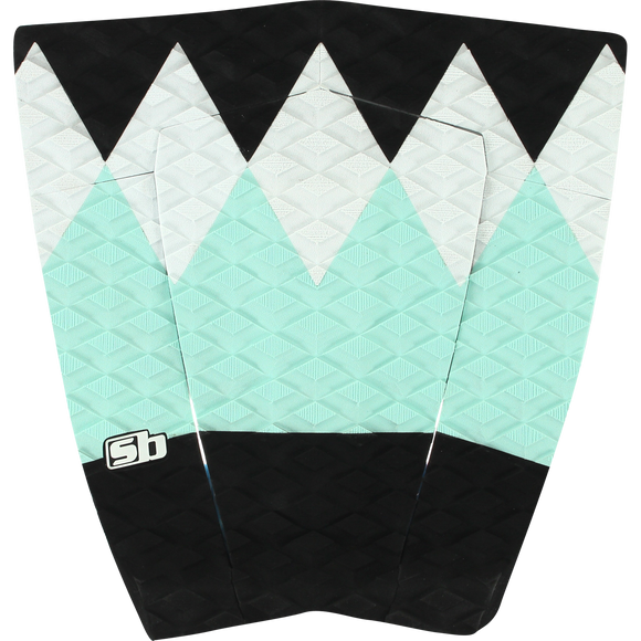 SB Sticky Bumps Tatiana Weston Webb Traction Turquoise/Black/White