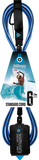 Komunity Project 6' Standard Surfboard Leash 7mm -  Blue  | Universo Extremo Boards Surf & Skate