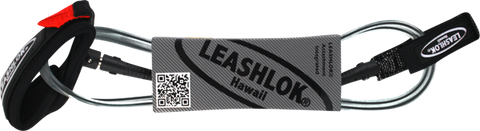 Leashlok Competition Surfboard Leash 6' Black  | Universo Extremo Boards Surf & Skate