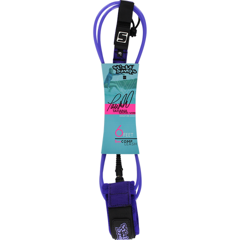 Sticky Bumps Weston-Webb Signature Comp 6' Leash Purple