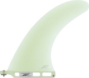 "Fins Unlimited Sro Performance 9"" Clear Surfboard FIN"
