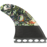 3D Darkside Carbon Full-Base 5.0 Wise Owl Surfboard FIN - SET OF 3PCS | Universo Extremo Boards Surf & Skate