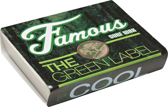 Famous Green Label Cool Single Bar Wax Organic