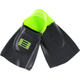DMC Training Swim Fins - LARGE Charcoal/Green (Size 10-11)